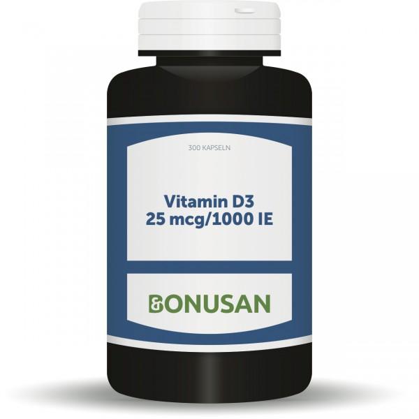 Vitamin D3 25mcg/1000IE 300 Kapseln