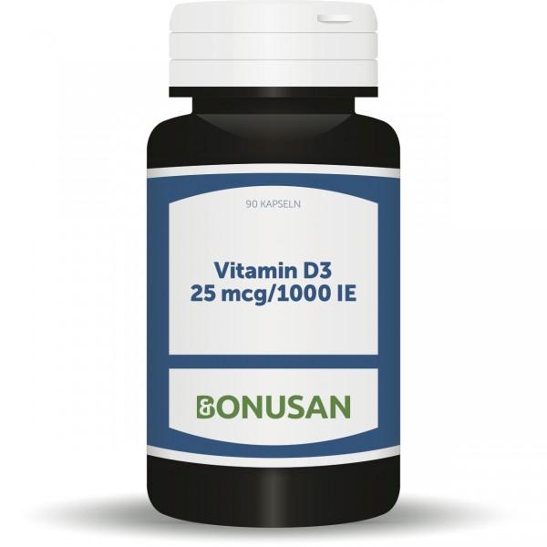 Vitamin D3 Kapseln 25mcg
