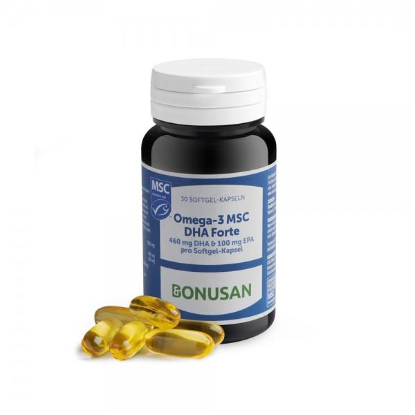 Omega-3 MSC DHA | Softgel Kapseln 30 Stk.