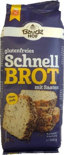 Schnell Brot-Backmischung mit Saaten 500g