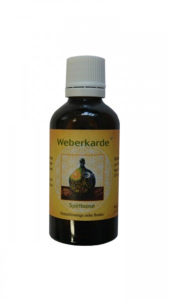 Spagyrik Weberkarde Destillat 50ml