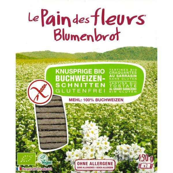 Blumenbrot Buchweizen 150g NEU