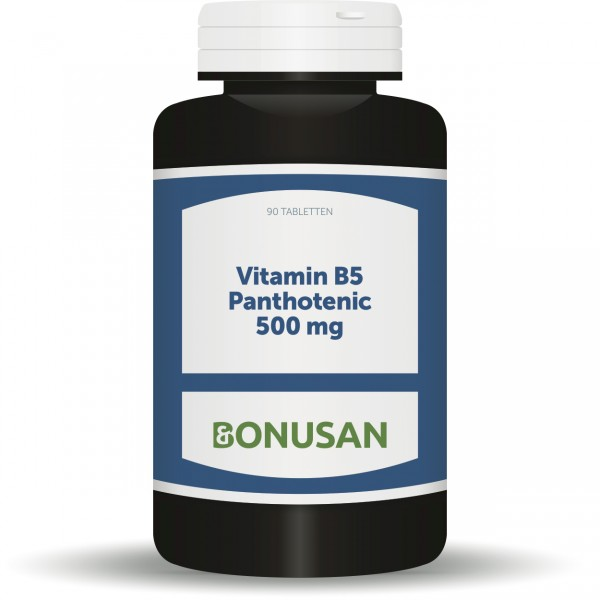 Vitamin B5 Pantothensäure 500mg