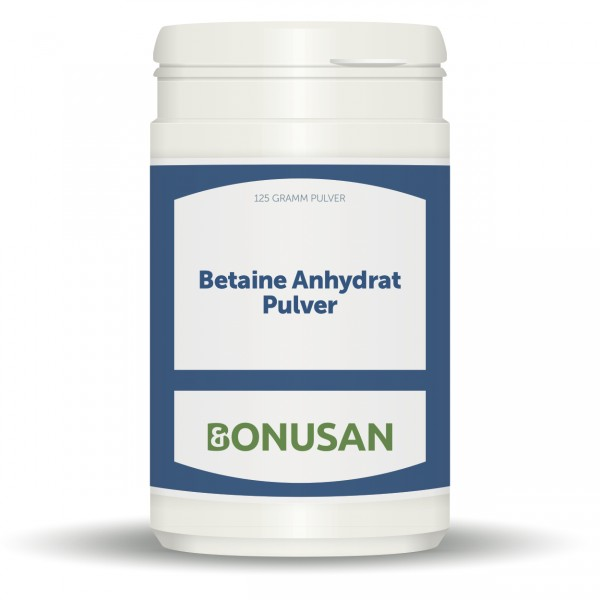 Betain Anhydrat Pulver 125g