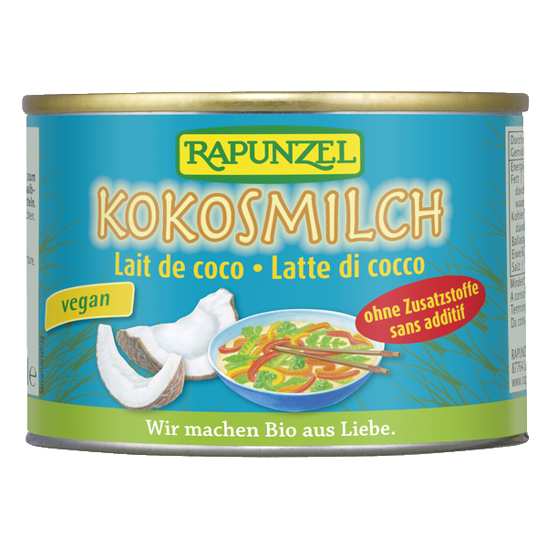 Bio-Kokosmilch RAP 400ml