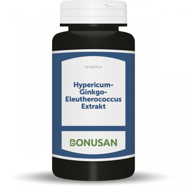 Hypericum-Gingko-Eleutherococcus Extrakt