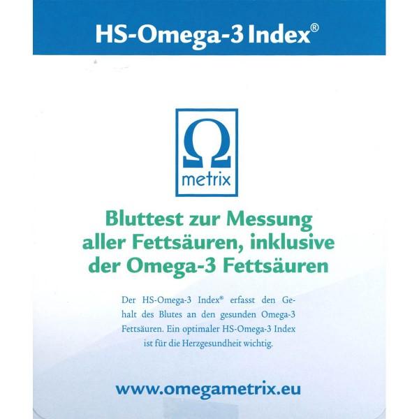 Omega 3 Index-Test - Clemens von Schacky