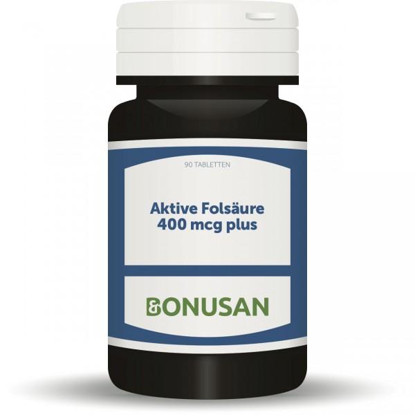 Folsäure aktiv 400mcg plus