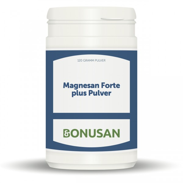 Magnesan Forte Plus Pulver 120g