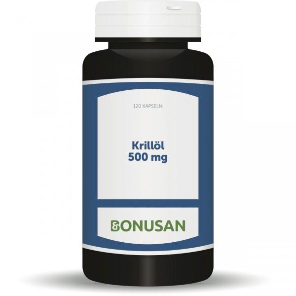 Krillöl 500 mg 120 Stk. Großpackung