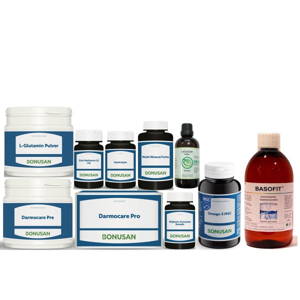 Leber und Darm Paket   10 Produkte