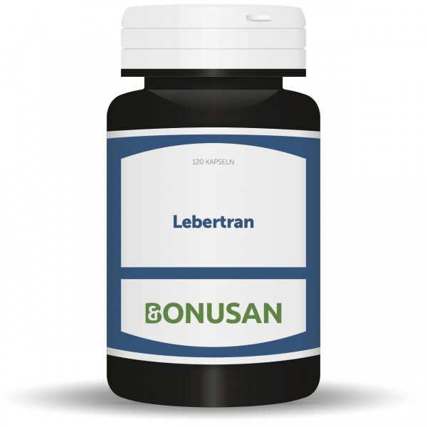Lebertran - 120 Kapseln, Vitamin D, Vitamin A, Narturesan Nahrungsergänzungsmittel, Dr. MArkus Stark