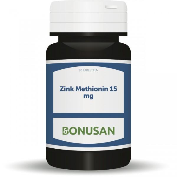 Zinkmethionin 15mg 90 Stk., Zink, Naturesan Nahrungsergänzungsmittel, Dr. Markus Stark