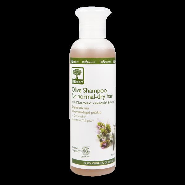 Oliven Shampoo für trockenes und normales Haar 200ml