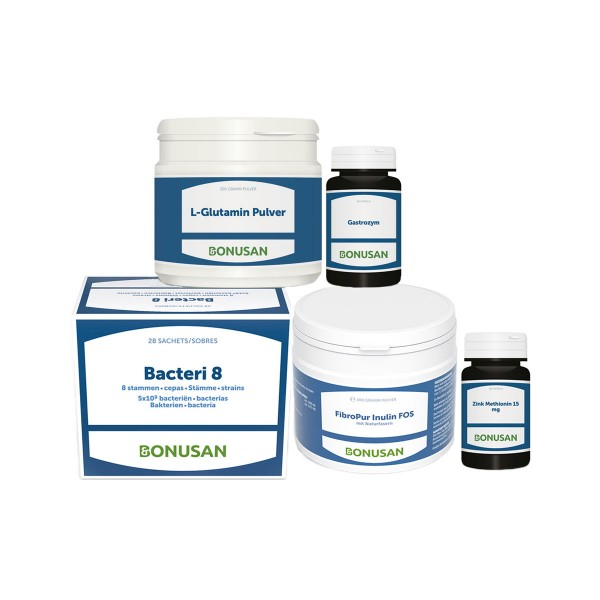 Darmaufbau Paket | 5 Produkte Bacteri Linie