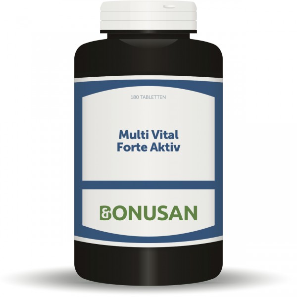 Multi Vital Forte Aktiv Tabletten 180 Stück