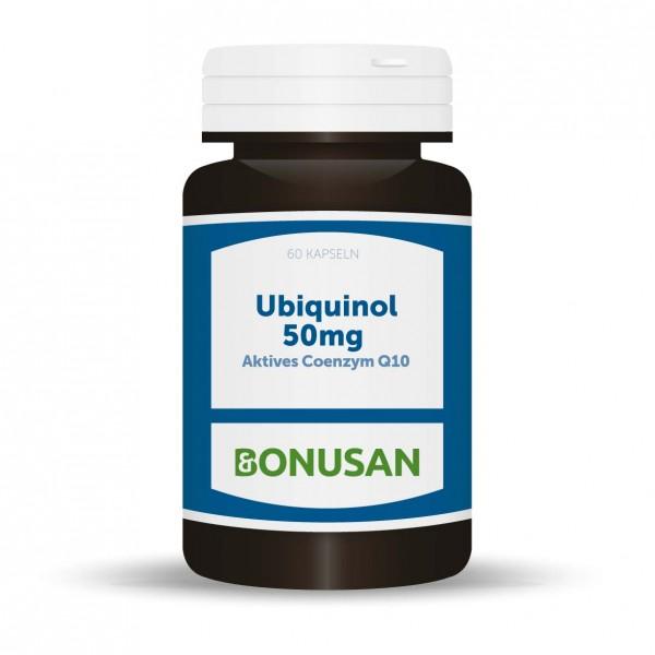 Ubiquinol 50mg (Aktives Coenzym Q10) | Kapseln 60 Stk.