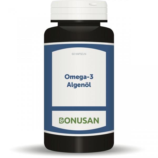 Omega-3 Algenöl (rein pflanzlich)