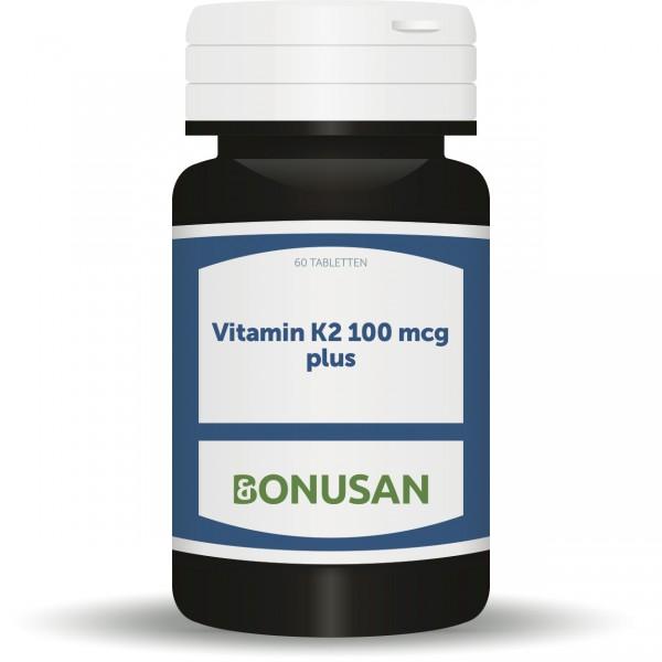 Vitamin K2 100mcg plus
