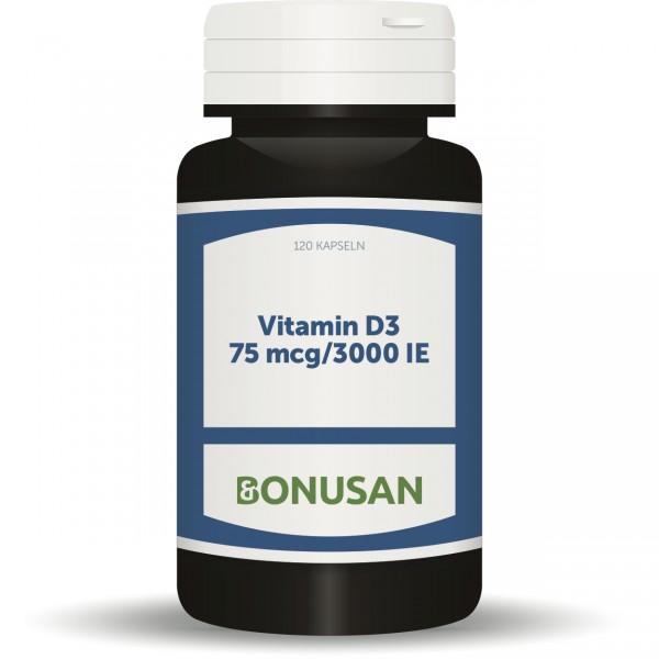 Vitamin D3 75 mcg / 3000 IE Großpackung, Naturesan Nahrungsergänzungsmittel Shop