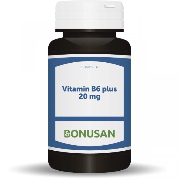 Vitamin B6 plus 20 mg