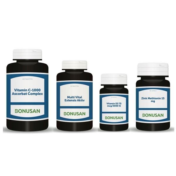 Immunpaket Erwachsene 50 plus | 4 Produkte