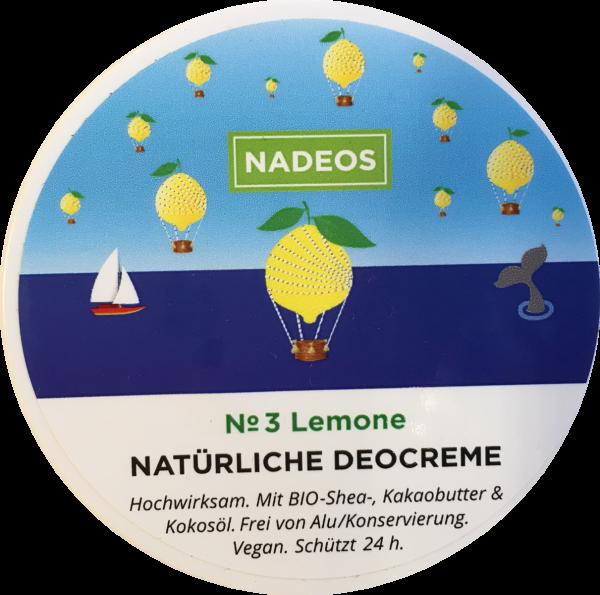 Deocreme Lemone Nadeos 40g