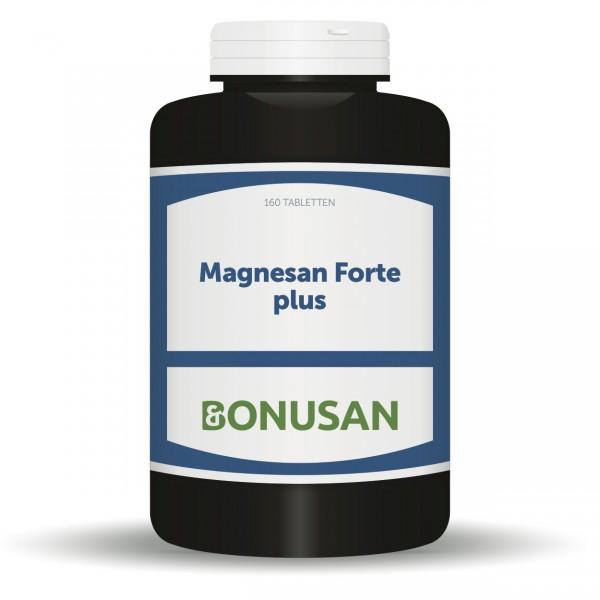 Magnesan Forte Plus - 160 Tabletten, Naturesan Nahrungsergänzungsmittel