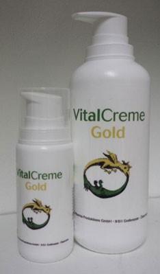 Spagyrik Vital Creme Gold 100 ml Airlessspender