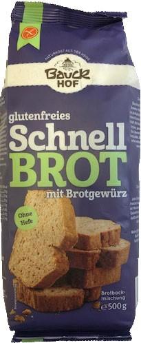 Schnell Brot-Backmischung mit Brotgewürz 500g