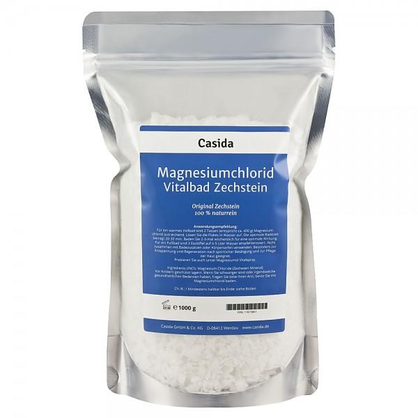Magnesiumchlorid Vitalbad 1 kg Flocken
