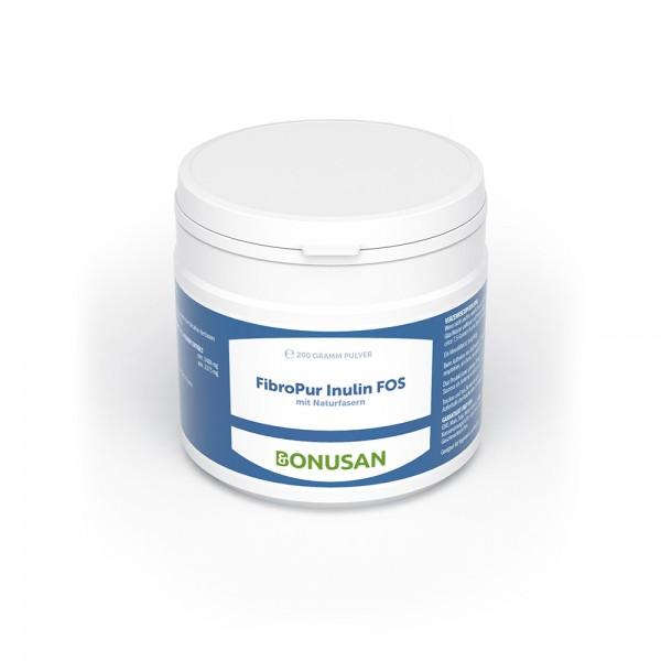 FibroPur Inulin FOS | Pulver 200 Gramm