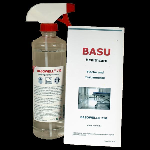 Basowell 710 Flächendesinfektion 500ml