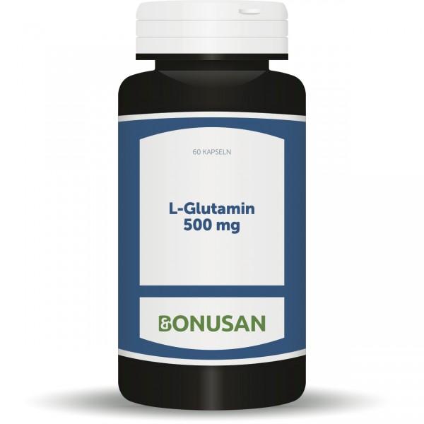 L-Glutamin 500mg/Kapseln
