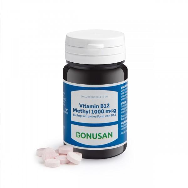 Vitamin B12 Methyl 1000mcg | Lutschtabletten 90 Stk.