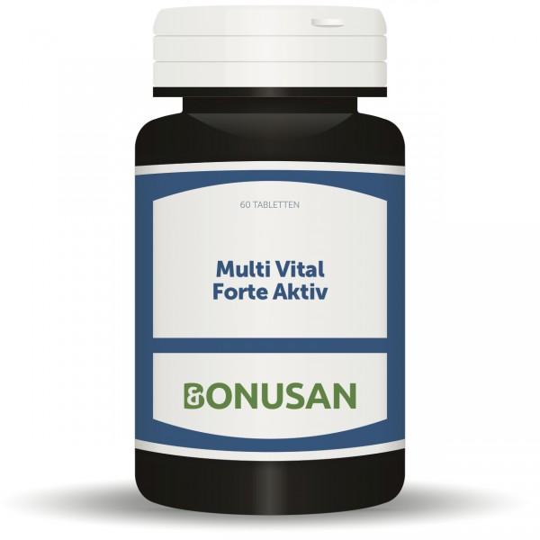 Multi Vital Forte Aktiv Tabletten 60 Stück
